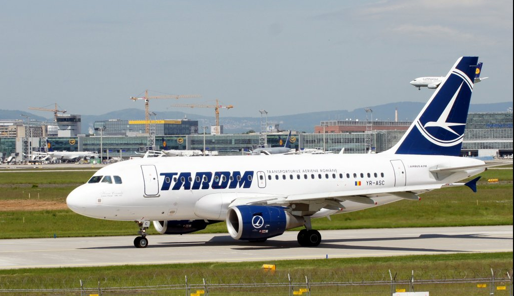 Airbus A318-111 Tarom